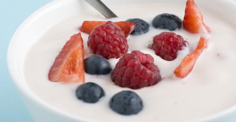 Does Greek yogurt suppress appetite?