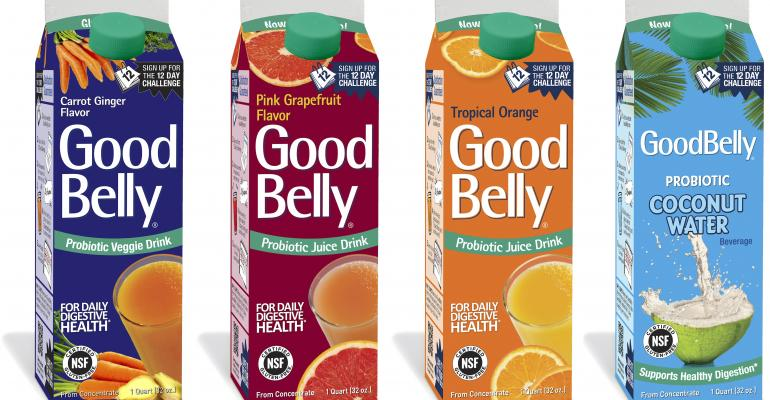GoodBelly introduces new packaging