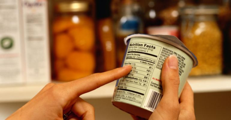 Shoppers reading labels more often