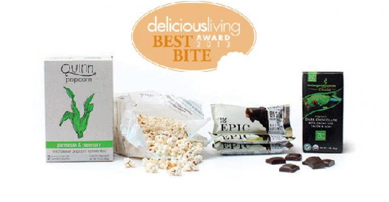 Top foods and beverages: Delicious Living's 2013 Best Bite winners