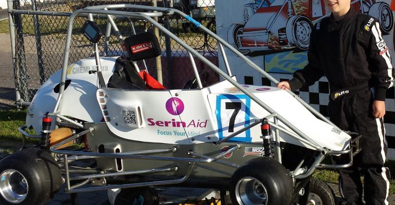 Chemi Nutra sponsors youth racer