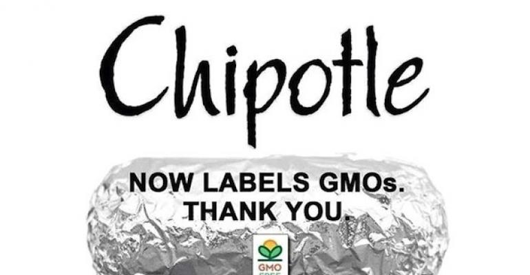 Chipotle now labeling GMO ingredients