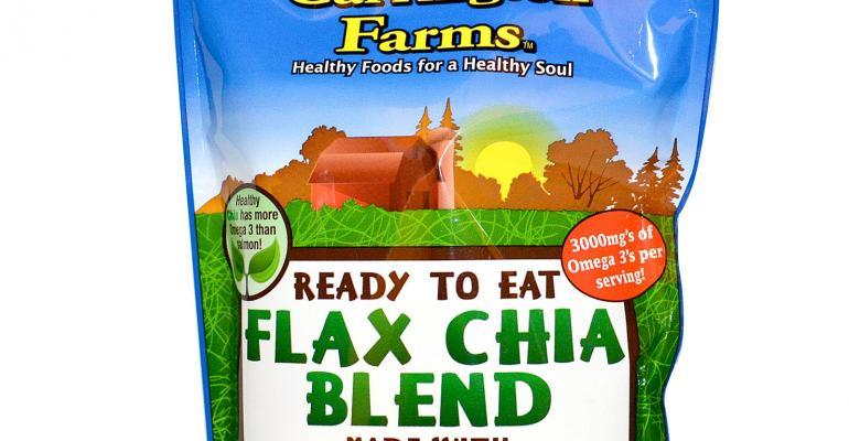Carrington Farms launches organic flax-chia blend