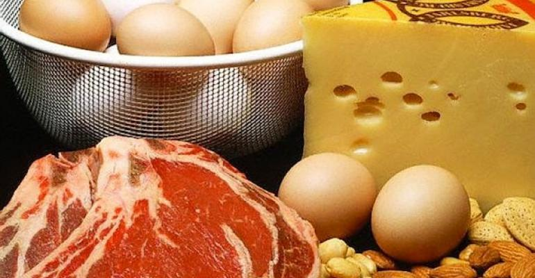 Educate customers on protein intake