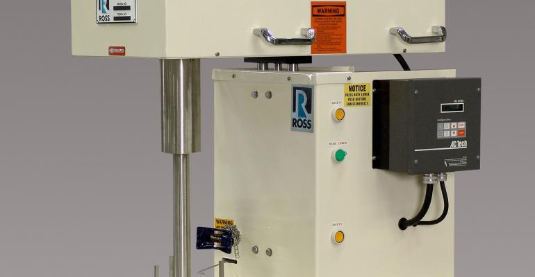 Ross launches Laboratory High Viscosity Disperser