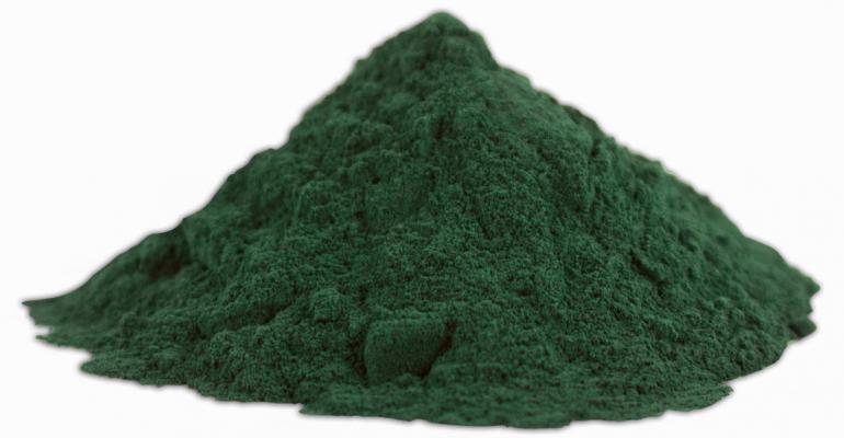FDA OKs spirulina as blue food color