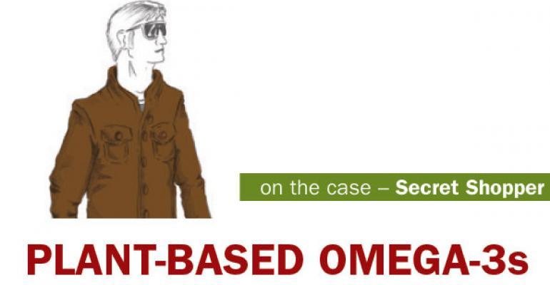 NFM Secret Shopper: Plant versus fish-based omega-3s