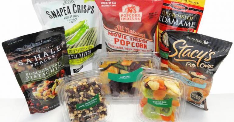 Organic trail mix, veggie chips, edamame ... at 7-Eleven