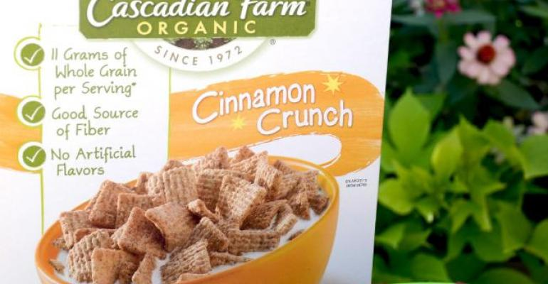 Cascadian Farm goes green with cereal box liner