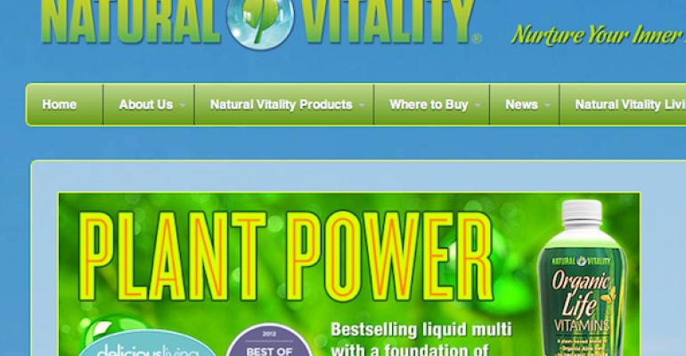 Natural Vitality supports organics