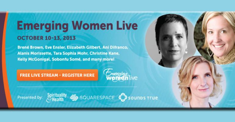 Emerging Women Live to stream inspirational conference