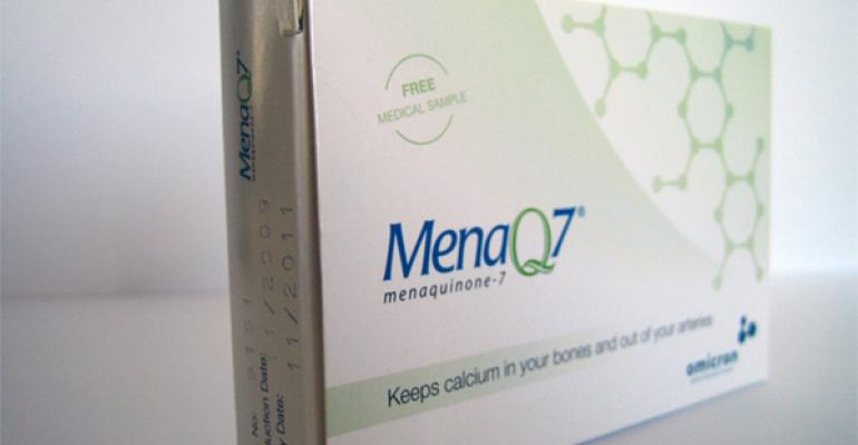 MenaQ7 Crystals launched in medical food