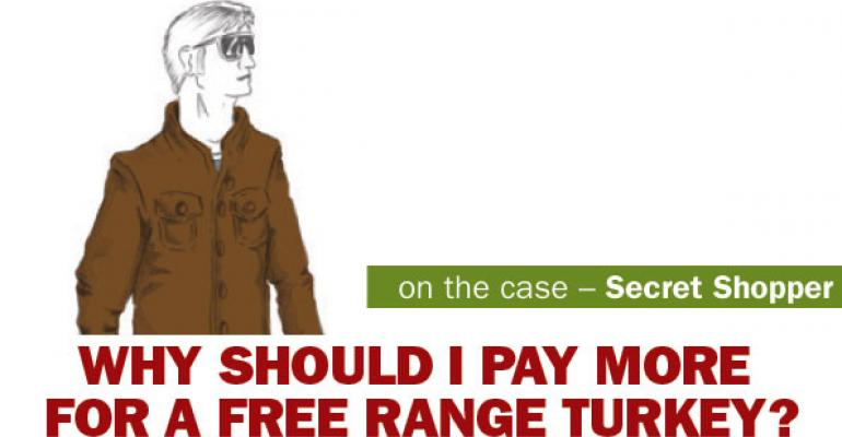 NFM Secret Shopper: Why should I pay more for a free-range turkey?