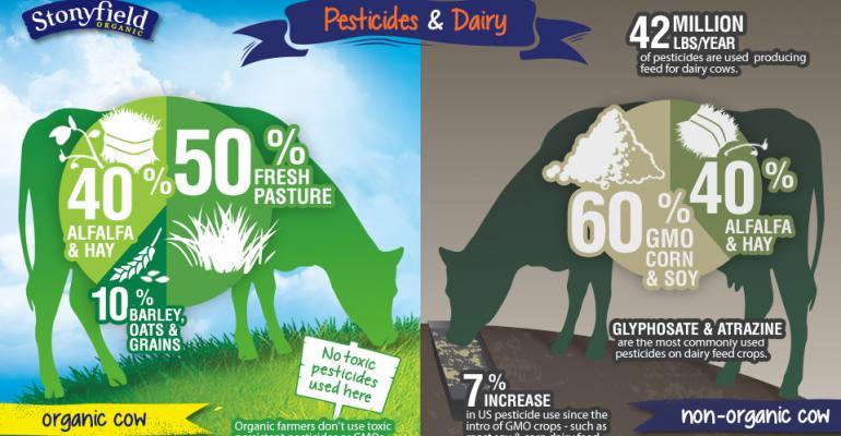 Organic vs. non-organic: what do cows eat?