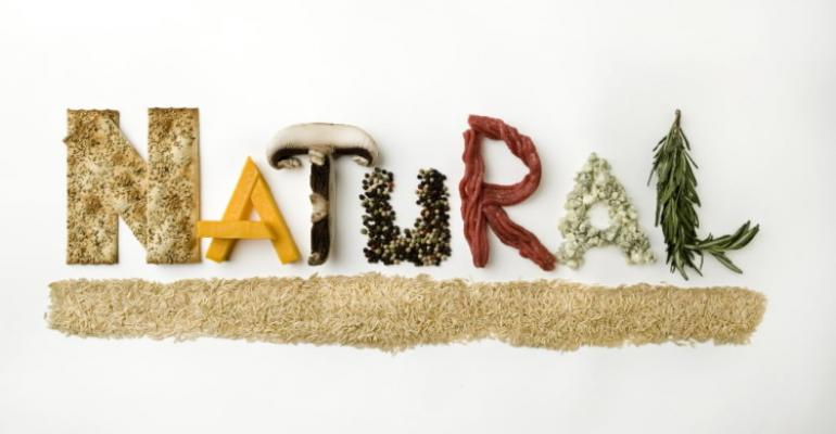 Use organic as the model to define natural