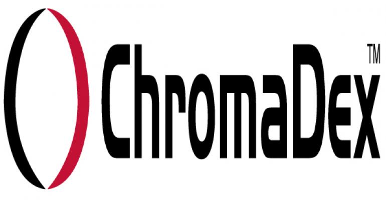 Chromadex reports financials