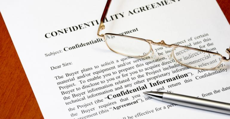 Investor confidentiality agreements aren't as valuable as you think