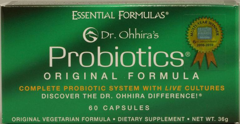 Study shows Dr. Ohhira's probiotic safe