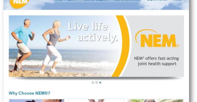 New joint health soft chews feature NEM