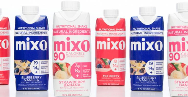 Mix1 starts manufacturing improved protein shakes
