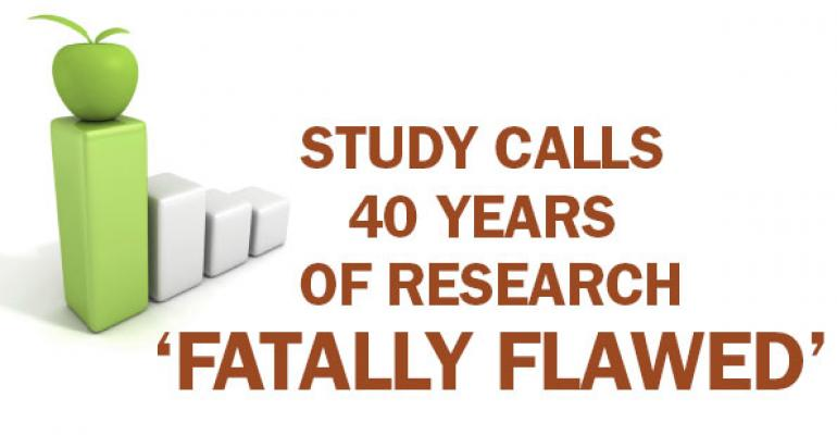 Research calls into question long accepted dietary advice