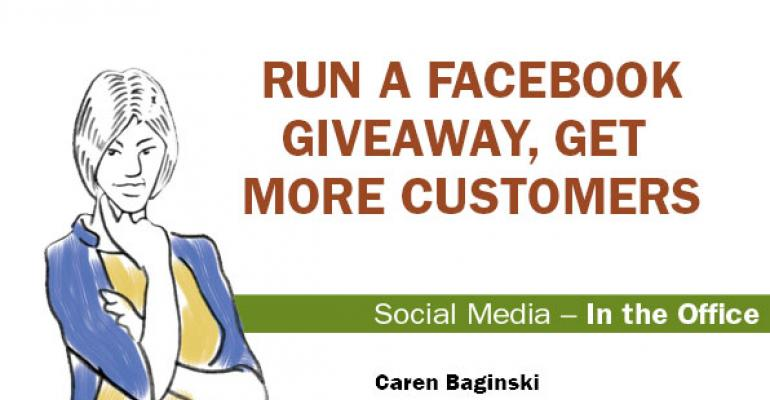 How to run a successful Facebook giveaway