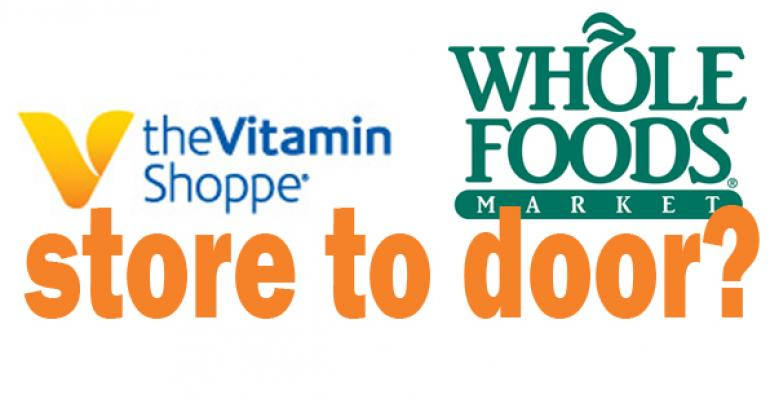 The future of delivery and e-commerce for Whole Foods, Vitamin Shoppe