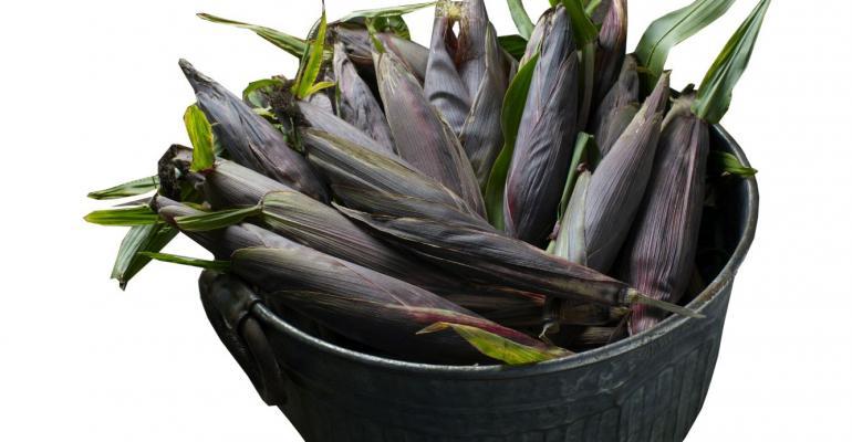Purple corn in hot demand