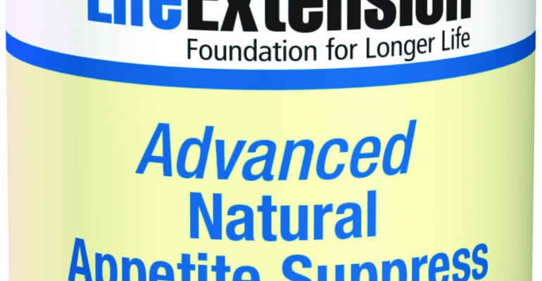 Life Extension debuts Advanced Natural Appetite Suppress