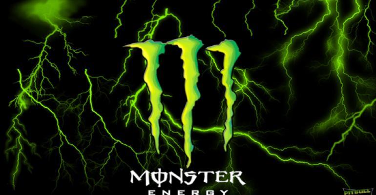 Monster defends energy drinks