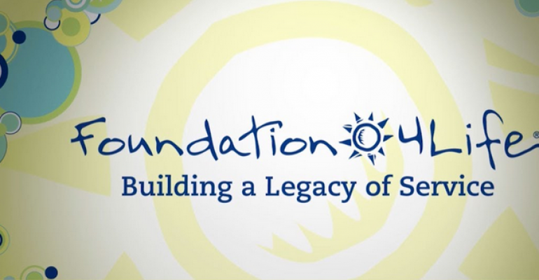 Foundation 4Life wins NBJ Philanthropy Award for global efforts