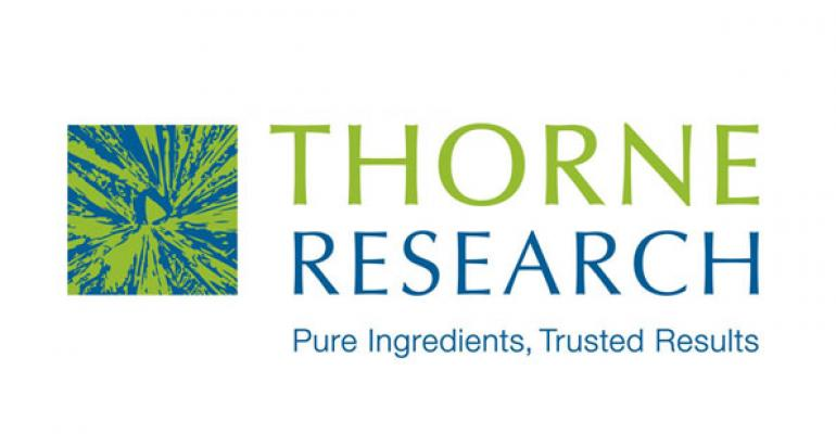 Thorne Research bets on personalized medicine technology and wins Nutrition Business Journal Investment in the Future Award