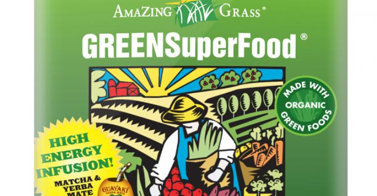 Amazing Grass unveils new green superfoods