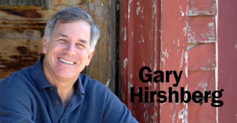 Gary Hirshberg is the chairman of Organic Voices