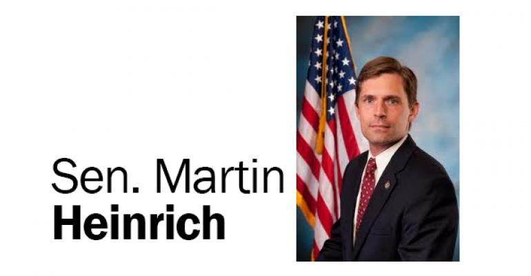 Sen. Martin Heinrich to speak at Natural Products Day breakfast