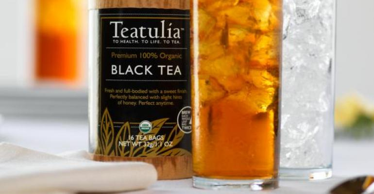 Teatulia launches organic iced teas