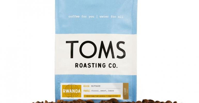 TOMS launches coffee business