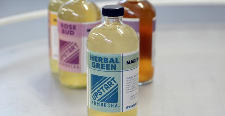How Upstart Kombucha rebranded to appeal to naturals