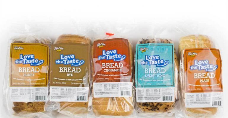 New breads, snacks, desserts cut calories 70%