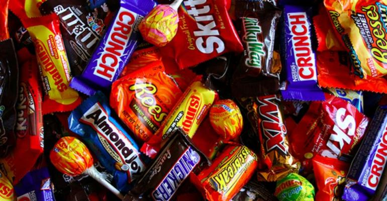 Lots of candy, little fiber = high oleic acid in kids