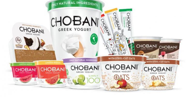 Chobani pushes boundaries of Greek yogurt