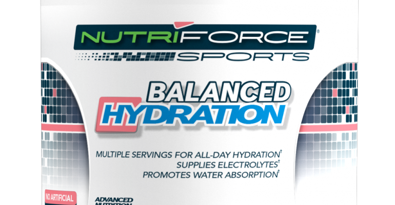 NutriForce debuts Balanced Hydration with Sustamine