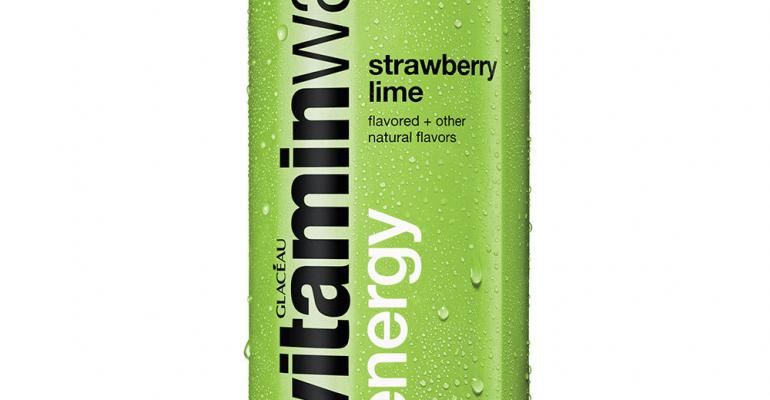 vitaminwater moves into energy drinks