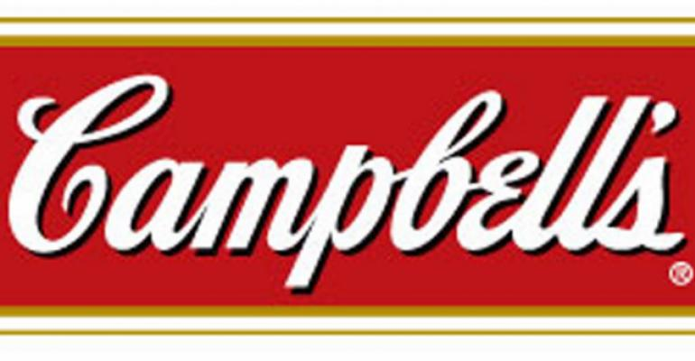 Slow soup sales sink Campbell