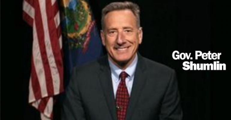 Vermont Gov. Peter Shumlin discusses state's GMO labeling bill on PBS