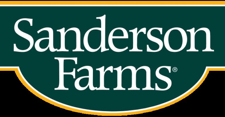 Chicken sales solid for Sanderson Farms