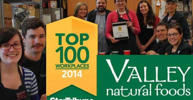 Valley Natural Foods a Top 100 Workplace