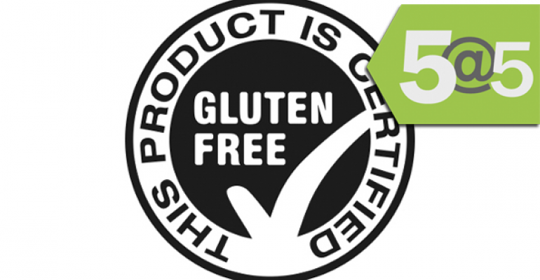 5@5: Gluten-free labeling rule goes into effect, GMO meat stigmas
