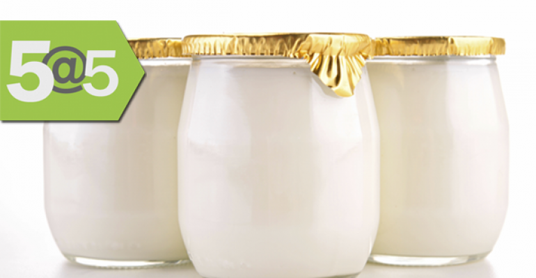 5@5: Study findings bolster organic's health benefits, Yogurt popularity climbing
