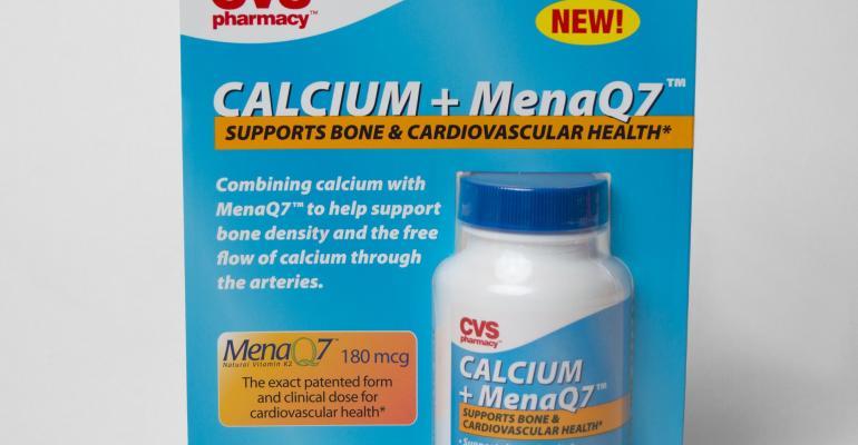 NattoPharma's MenaQ7 now at CVS